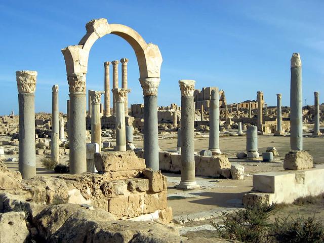 Basilica Ruins, Sabratha