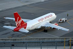 Virgin America N525VA