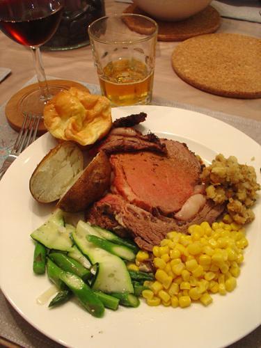 Christmas Dinner Prime Rib Flickr Photo Sharing