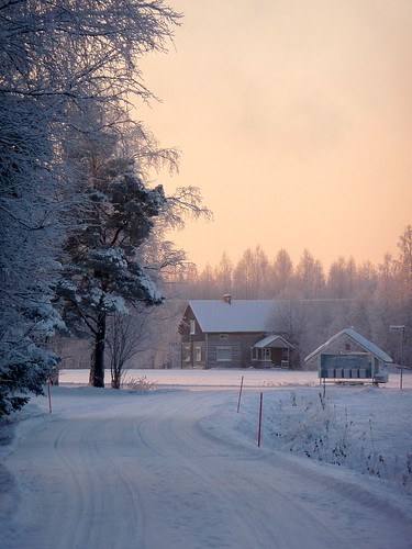 suomi finland december christmaseve 2010 nivala
