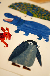 [6/365] Eric Carle Stickers