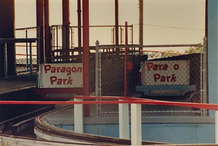 Paragon Park 1985 - Roller Coaster Cars
