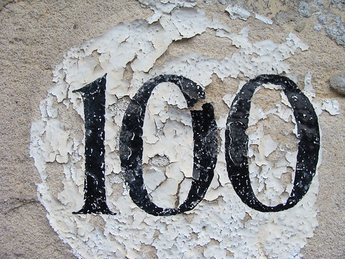 No 100 - flaking