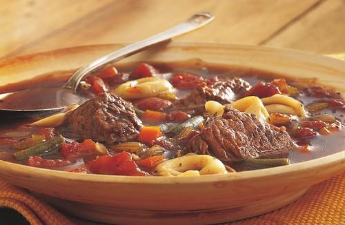 Beef Tortellini Soup Recipe
