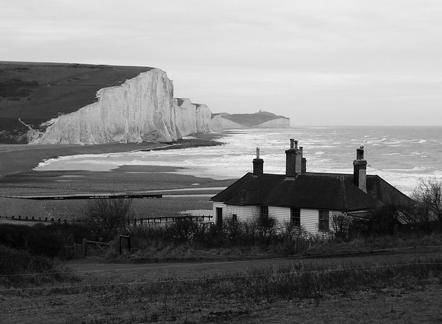 View towards the Seven Sisters