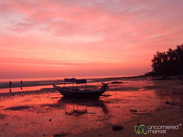 Low Tide at Sunset - Koh Samui, Thailand