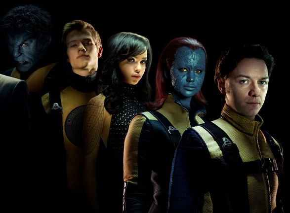 X-Men: First Class, characters and actors