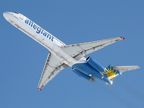 Allegiant | MD-87 | N945MA | Kansas City International Airport