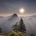 Half Dome Sunrise by karlzoltan