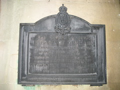 Photo of John Lambton and Thomas Beddoes black plaque