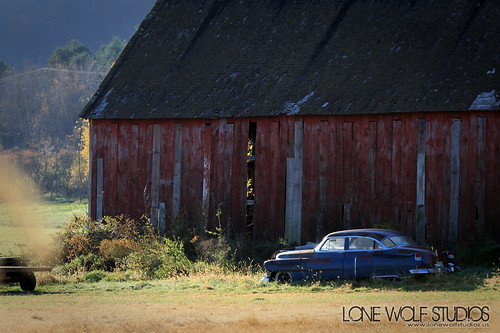 barn find by Chad Berger Photography