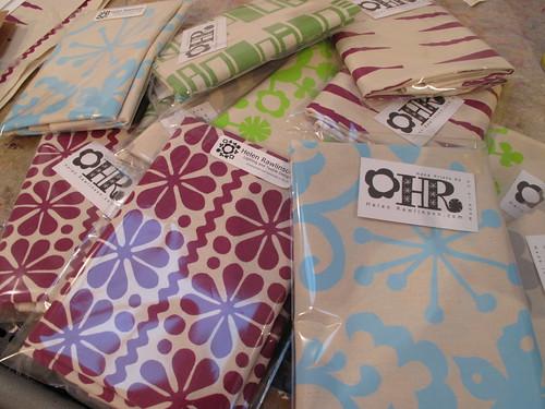 new prints, new tea towels