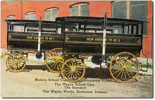 Wayne Works School Cars (Hacks), Richmond, Indiana