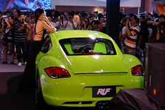 Girls and cars - another motor show in Bangkok