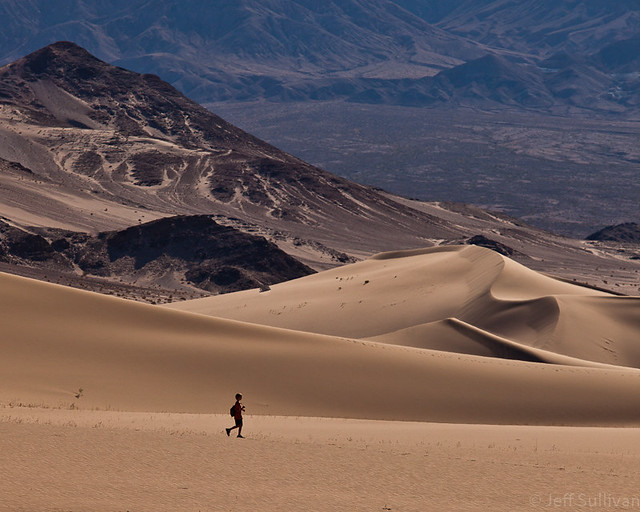 Death Valley Dune Hike