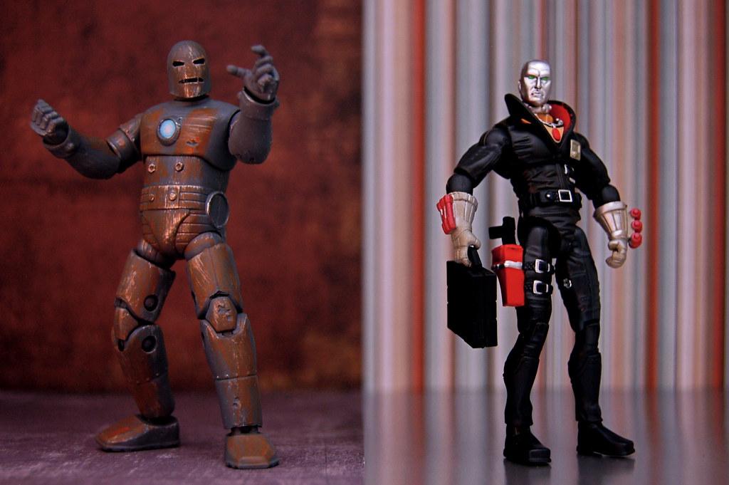 Iron Man vs. Destro (342/365)