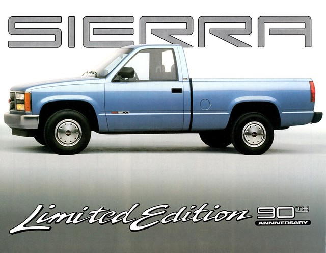 1993 gmc sierra 90th anniversary limited edition flickr photo sharing. Black Bedroom Furniture Sets. Home Design Ideas