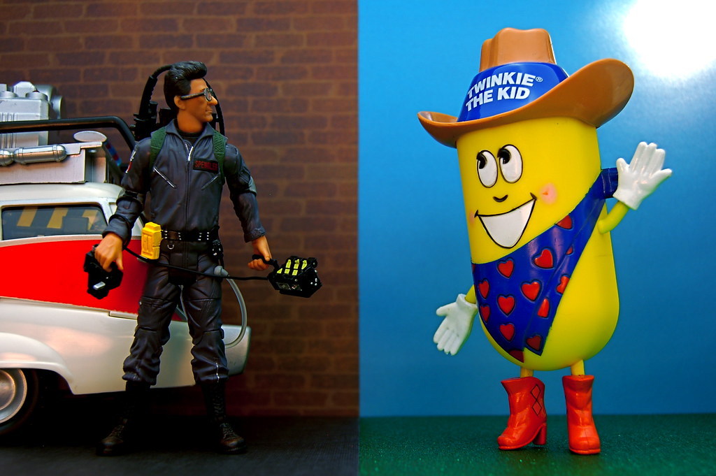 Dr. Egon Spengler vs. Twinkie the Kid (344/365)