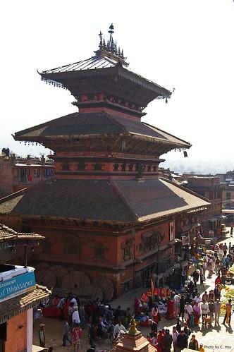 Bhaktapur - Taumadhi Square(陶馬迪廣場)- Bhairabnath Temple