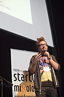 Harper Reed speaks at the Tech Cocktail Startup Mixology Conference