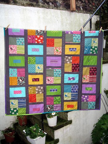 Echino Patchwork Quilt - Dec 2010