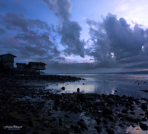 morning sky house seascape nature clouds sunrise landscape seaside rocks stones philippines ozamiz mindanao catadman frozenblizzard