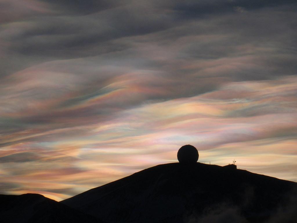 Полярные стратосферные (перламутровые) облака