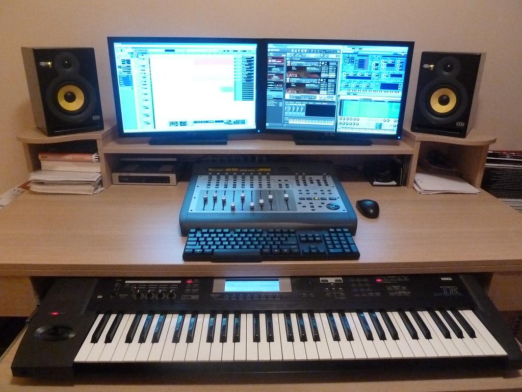 Home recording studio 4