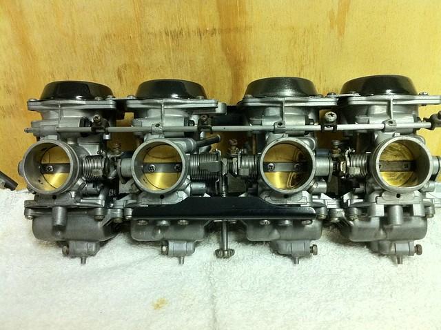 FS - GSX-R carbs, velocity stacks & manifolds for DOHC cb750