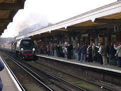 Steam Train Visitors to Worthing