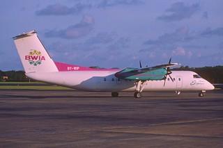 153aa - BWIA Express DHC-8-311 Dash 8Q; 9Y-WIP@TAB;14.10.2001