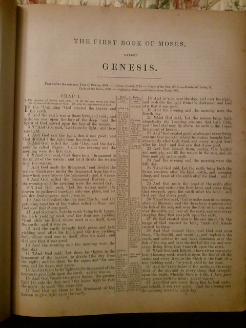 """genesis the first book of the Everywhere in the pentateuch (the first five books of the hebrew bible), the word """"day"""" when used (as here) with a definite article or numerical adjective means a solar day or a normally calibrated, 24-hour day."""