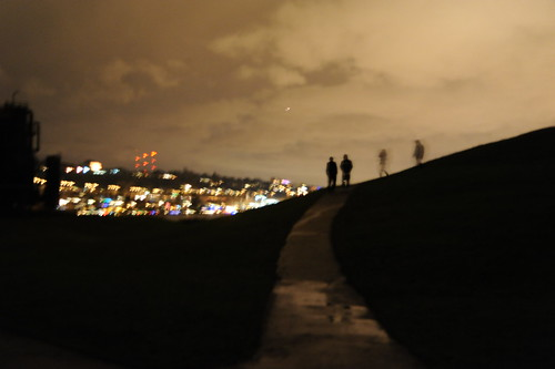Ghosts of Christmas past, Gasworks Park, Seattle, Washington, USA by Wonderlane
