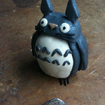 Christmas craft time with sister #6: Totoro!