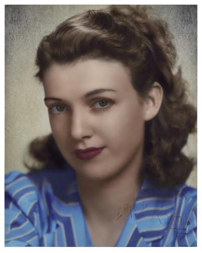 My Mother, Georgia Hanover Dalton- 1941