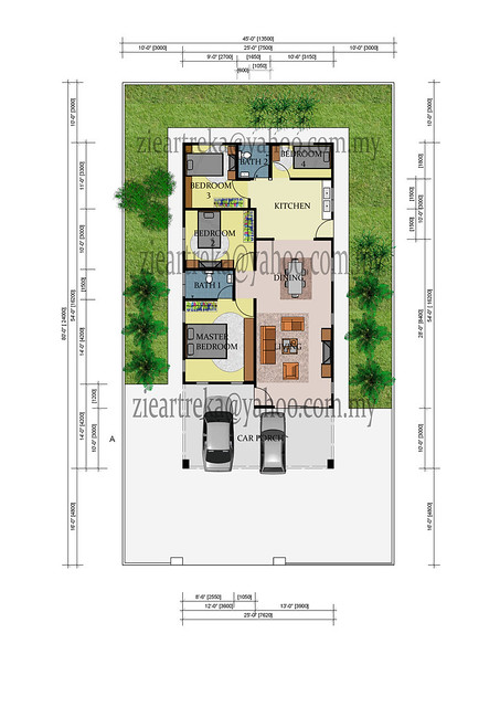 Floor Plan For Single Storey Bungalow Flickr Photo