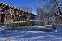 The Trestle Bridge at Hamilton