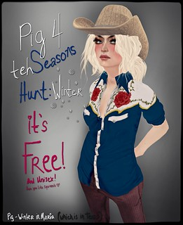 Pig - Winter in Marfa 4 the seasons hunt