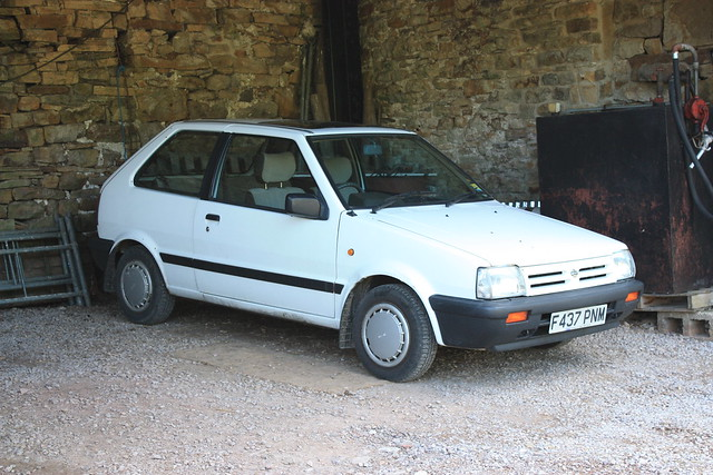 Dad S Old Car Nissan Micra K10 Flickr Photo Sharing