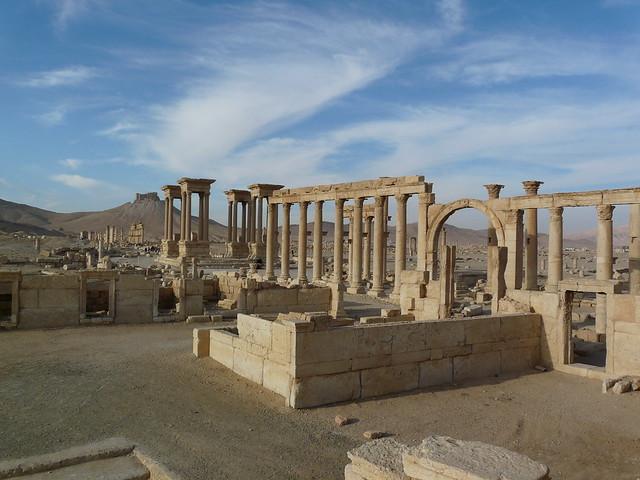 Palmyra ruins.