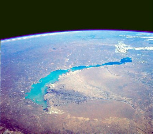 Lake Balkhash from Space