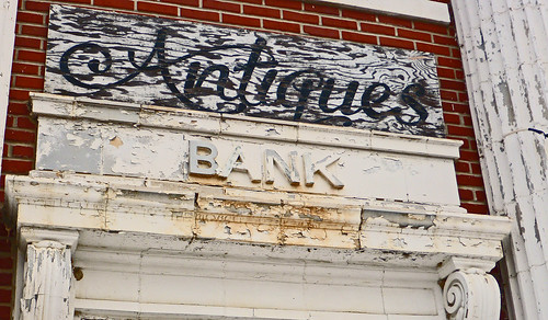 sign downtown bank missouri princetonmissouri