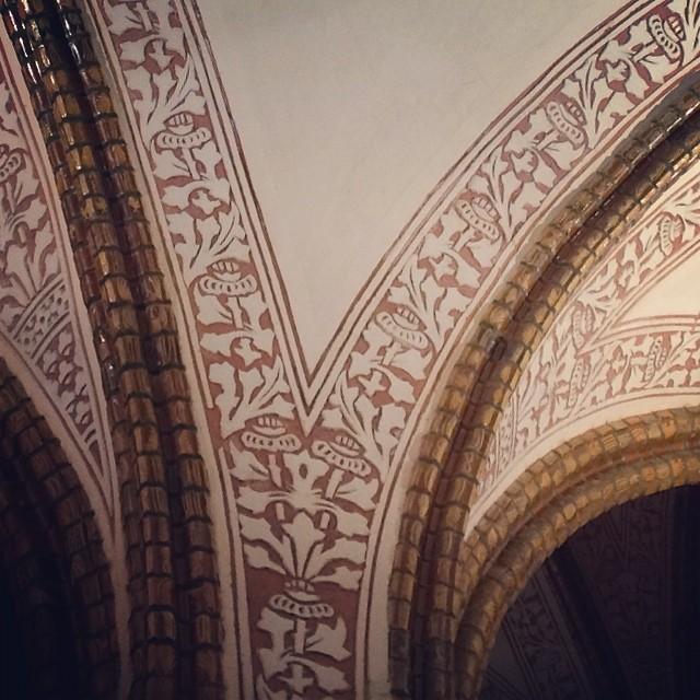 Interior del palacio de Gaudí en Astorga