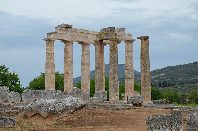 Temple of Zeus, constructed during the last third of the 4th century B.C. (ca . 330), Nemea