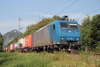 Crossrail electric loco 185 525-3 Bad Honnef