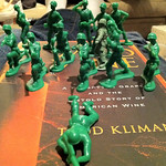Playing army men with Connor