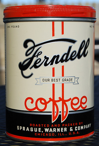 Ferndell Coffee, 1930's by Roadsidepictures
