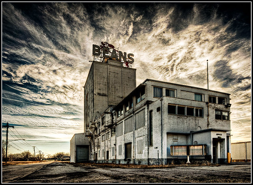Michigan Bean Elevator - Saginaw, Mi