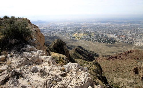 El Paso's west side from the Ron Coleman Trail