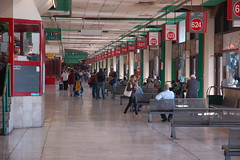 Tel Aviv Central Bus Station - if you take the 405 bus from Tel Aviv to Jerusalem by david55king, on Flickr